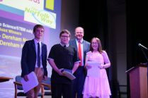 Lillmae and Aaron Nicholson, Winner Ks3