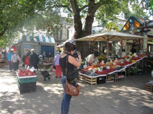 Marcie in Norwich Market