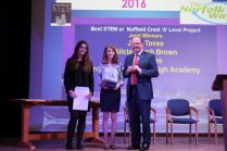 Best STEM or Nuffield Crest A Level Project