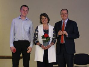 Tom Fenwick, Hilary Gauthier and George Freeman